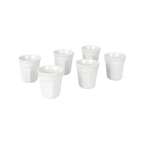Bialetti Becher Espressobecher-Set, 6-teilig BIALeTTI Weiß