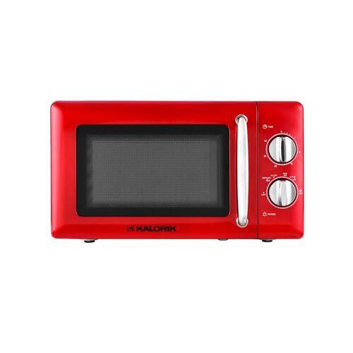 Kalorik Kompakt-Mikrowelle 'TKG MW 2000 RD' Kalorik Mettallic-Rot