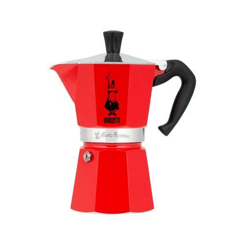 Bialetti Espressomaschine Moka Express BIALeTTI Rot