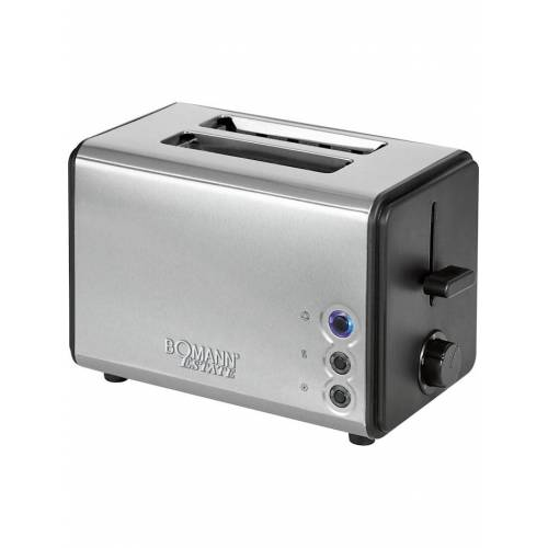 Bomann Toaster TA 1371 CB Bomann Silber