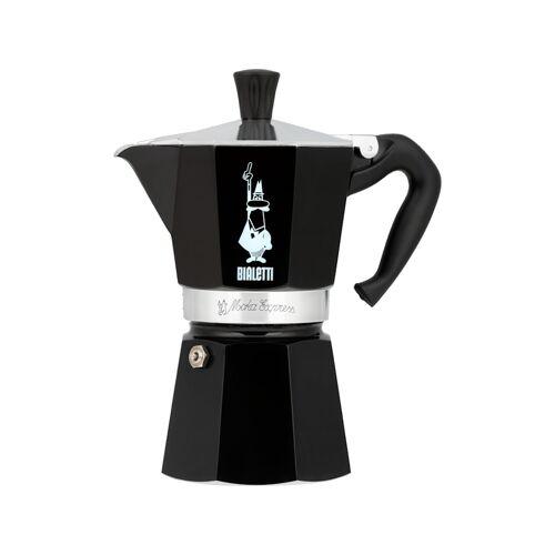 Bialetti Espressomaschine Moka Express BIALeTTI Schwarz