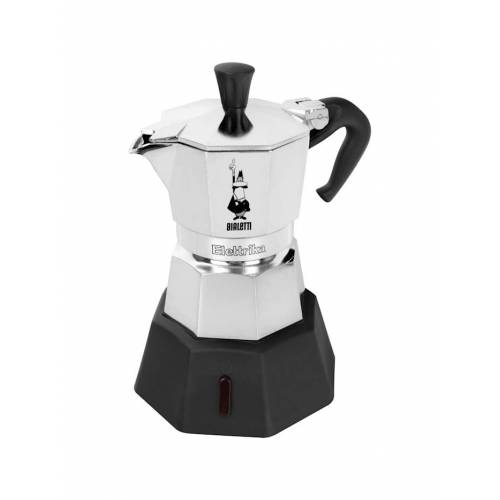 Bialetti Espressomaschine Elettrika BIALeTTI Silber