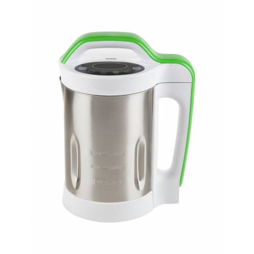 Domo Wasserkocher Suppenkocher DO499BL DOMO Silber