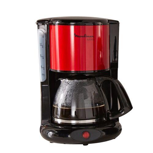 Moulinex Kaffeemaschine Subito FG360D Moulinex rot/schwarz