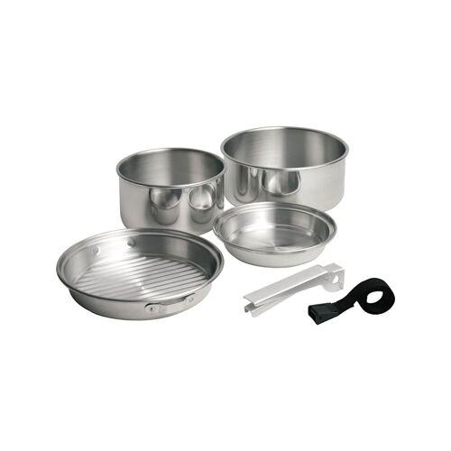 Campingaz Topf-Set Trekking-Geschirrset, Alu, 5-teilig Campingaz Silber