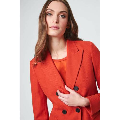 windsor. Doppelreiher-Blazer in Orange