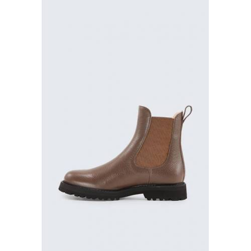 windsor. Chelsea Boot by Unützer in Taupe