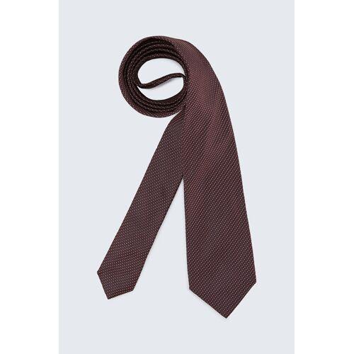 windsor. Seiden-Krawatte in Dunkelrot gemustert