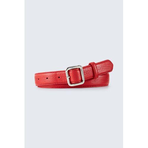 windsor. Ledergürtel in Rot