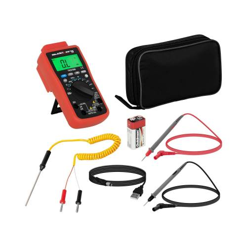 Steinberg Systems Multimeter - 6.000 Counts - Temperaturmessung - TrueRMS - USB 10030395