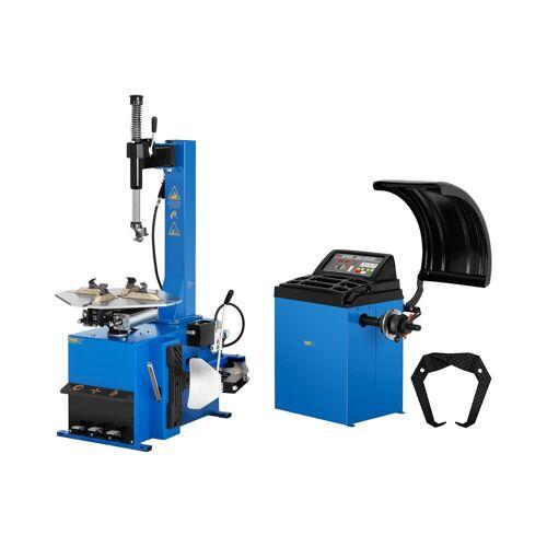 """MSW Set Reifenmontiermaschine und Reifenwuchtmaschine - 750 W - 11 bis 21"""" - 4 bis 7 s 18000478"""