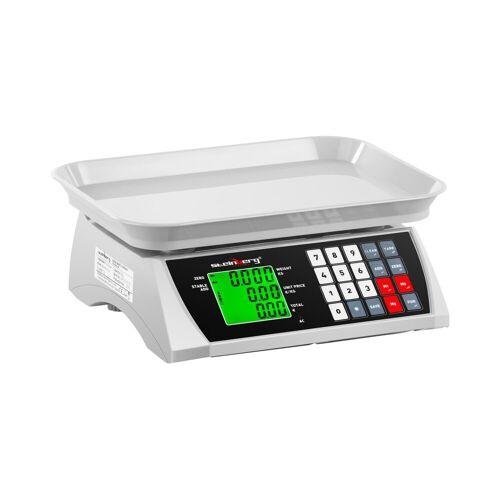 Steinberg Systems Kontrollwaage - 30 kg / 1 g - 28,8 x 21,8 cm - LCD 10030317