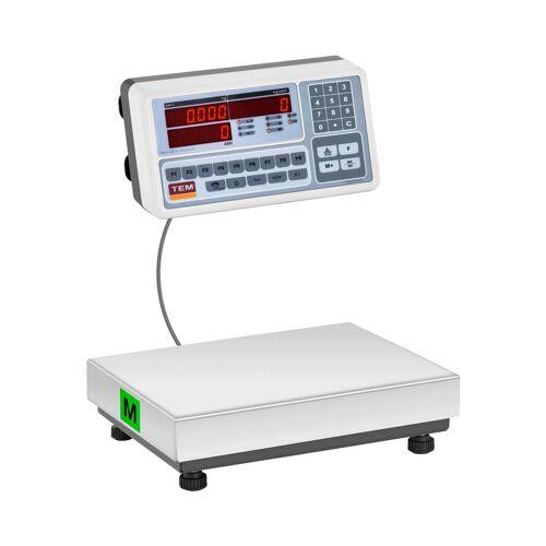 TEM Zählwaage - geeicht - 30 kg / 10 g 10200039