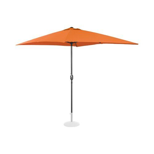 Uniprodo Sonnenschirm groß - orange - rechteckig - 200 x 300 cm 10250114