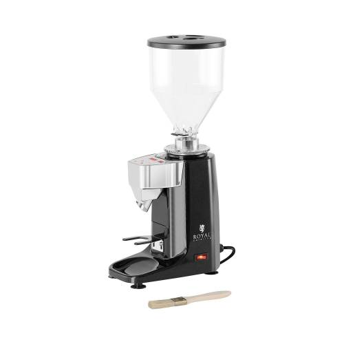 Royal Catering Kaffeemühle - 200 W - 1000ml - Aluminium - schwarz - LED 10011921