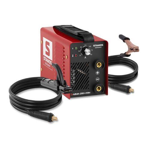 Stamos Basic Elektroden Schweißgerät - 200 A - Hot Start - 60 % Einschaltdauer 10020134