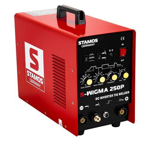 Stamos Basic WIG Schweißgerät - 250 A - 230 V - Puls