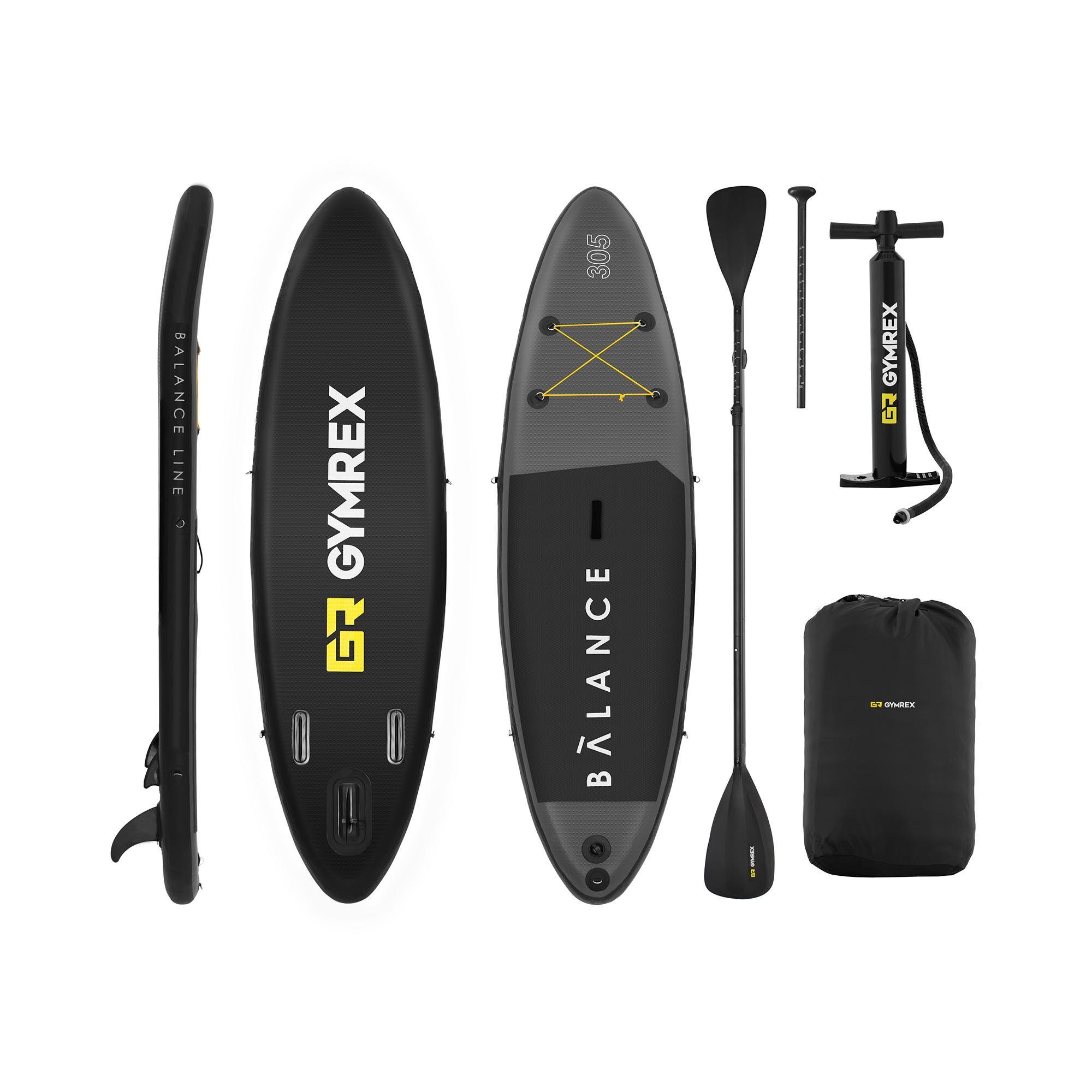 Gymrex Stand Up Paddle Board Set - 135 kg - 305 x 79 x 15 cm GR-SPB305