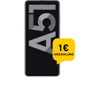 Samsung Galaxy A51 128 GB silber Aktion mit Allnet Flat S