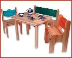 Dahlhaus Kindersitzgruppe 4-teil...