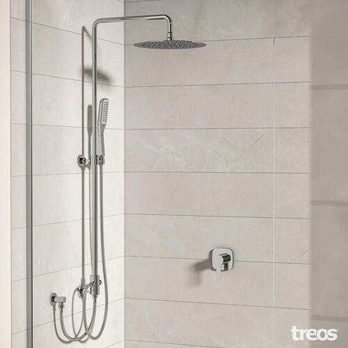 Treos Duschsystem mit Regenbrause 193.01.2773