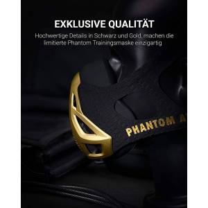 PHANTOM ATHLETICS Phantom Trainingsmaske - GOLD Edition