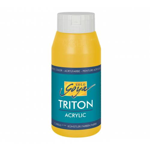 Persen Verlag Solo Goya Triton Acrylfarbe, 750 ml - gold