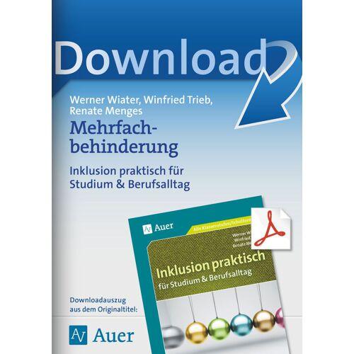 Auer Verlag Mehrfachbehinderung