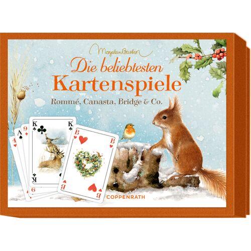 Coppenrath Schachtelspiel - Die beliebtesten Kartenspiele