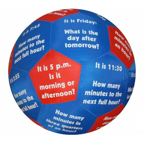 Persen Verlag Hands On Lernspielball - Time (Englisch)