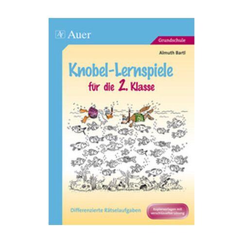 Auer Verlag Knobel-Lernspiele für die 2. Klasse