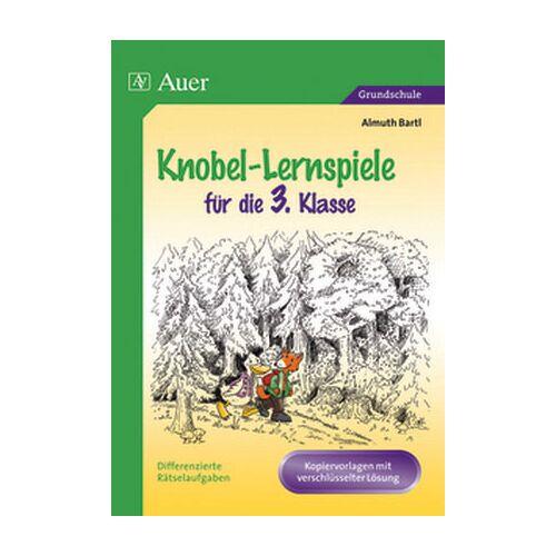Auer Verlag Knobel-Lernspiele für die 3. Klasse