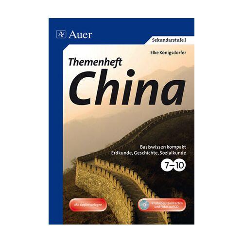 Auer Verlag Themenheft China
