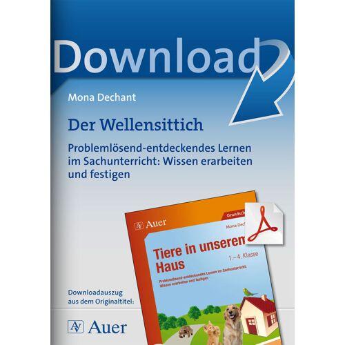 Auer Verlag Der Wellensittich