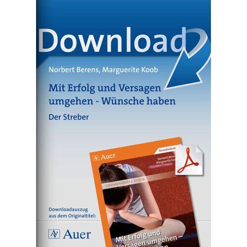 Auer Verlag Der Streber