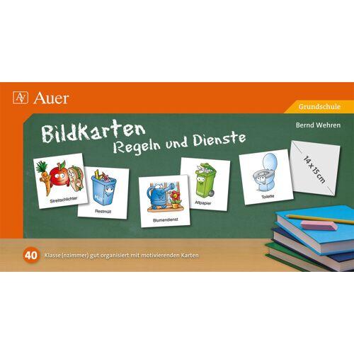 Auer Verlag Bildkarten Regeln und Dienste