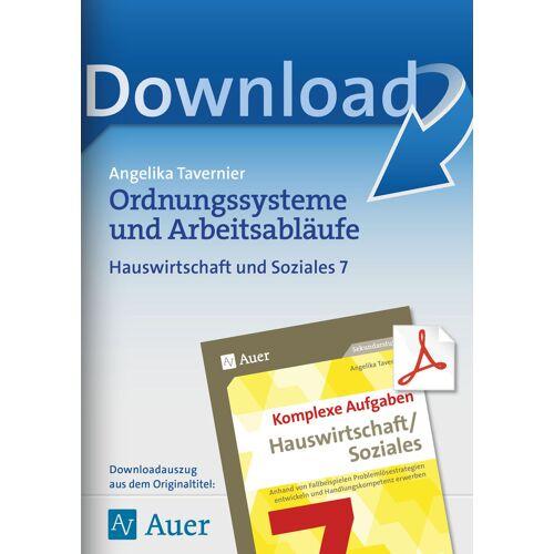 Auer Verlag Ordnungssysteme und Arbeitsabläufe