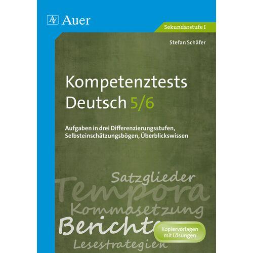 Auer Verlag Kompetenztests Deutsch 5-6