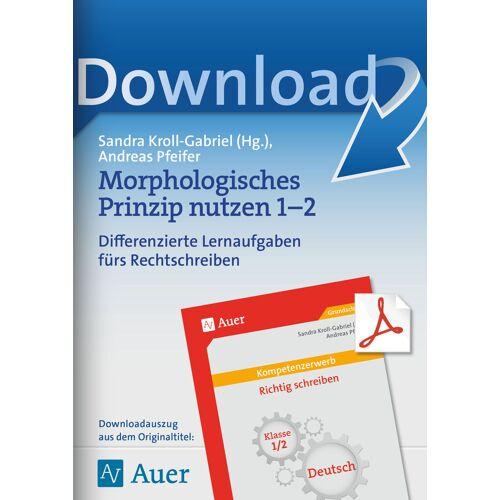 Auer Verlag Morphologisches Prinzip nutzen 1-2