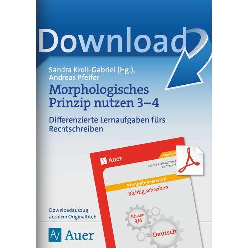 Auer Verlag Morphologisches Prinzip nutzen 3-4