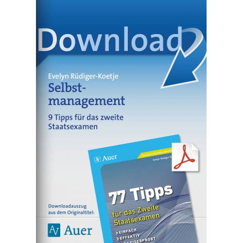Auer Verlag Selbstmanagement