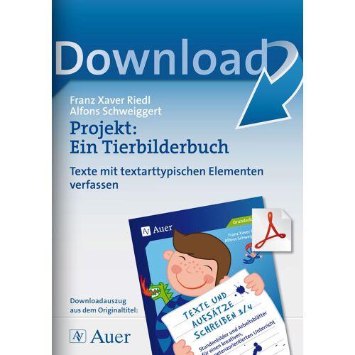 Auer Verlag Projekt: Ein Tierbilderbuch