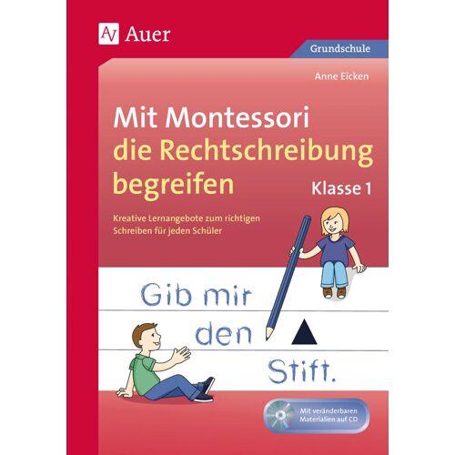Auer Verlag Mit Montessori die Rechtschreibung begreifen Kl. 1