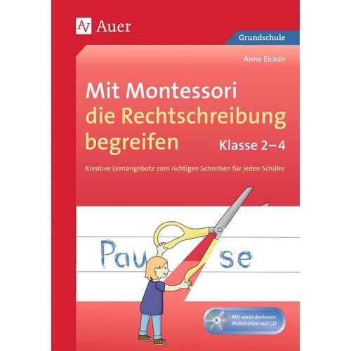 Auer Verlag Mit Montessori die Rechtschreibung begreifen 2-4