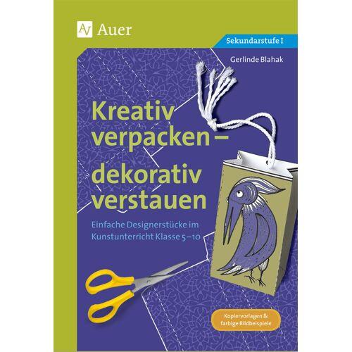 Auer Verlag Kreativ verpacken - dekorativ verstauen