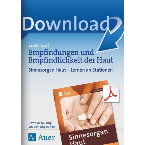Auer Verlag Empfindungen und Empfindlichkeit der Haut