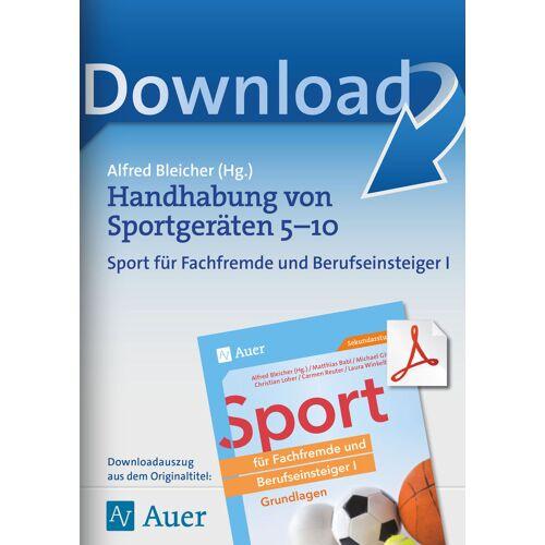 Auer Verlag Handhabung von Sportgeräten 5-10