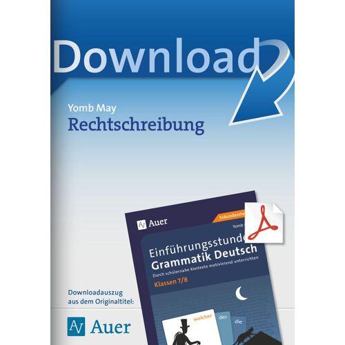 Auer Verlag Rechtschreibung