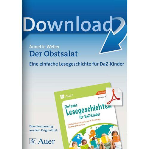 Auer Verlag Der Obstsalat