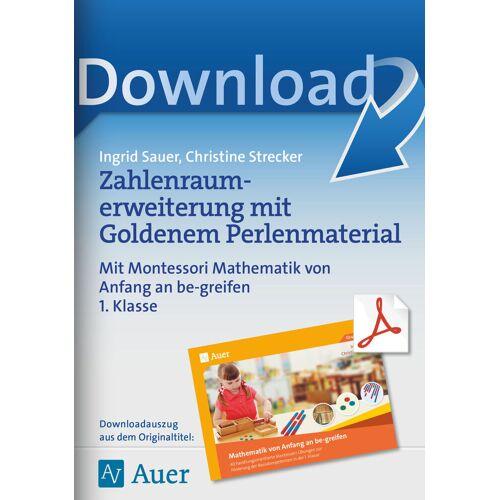 Auer Verlag Zahlenraumerweiterung mit Goldenem Perlenmaterial
